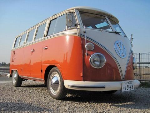 VW タイプⅡ 21ウィンドウ サファリウィンドウ 1964年式