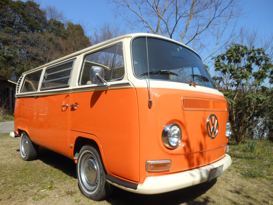 VWタイプⅡ アーリーレイトバス 1971年式